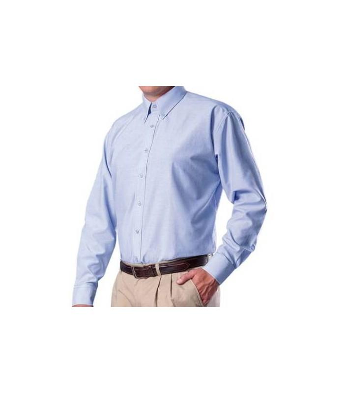 Camisa Oxford Hombre Manga Larga