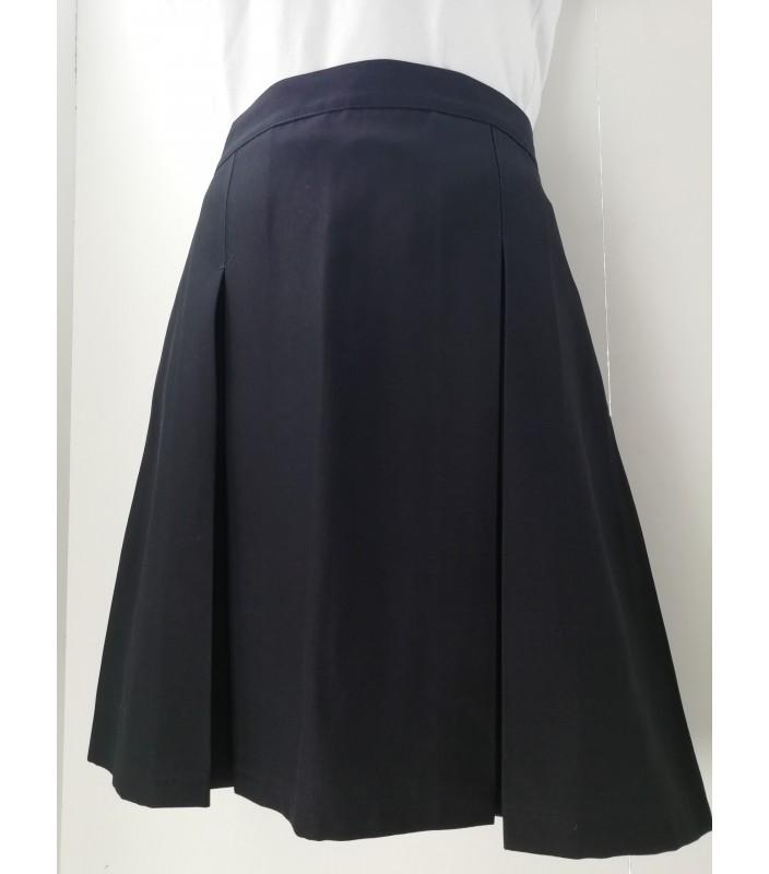 Falda Azul AL, 4 a 10 años.
